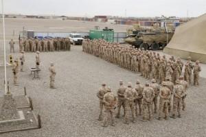 Eesti kaitseväelased Afganistanis veebruaris 2013